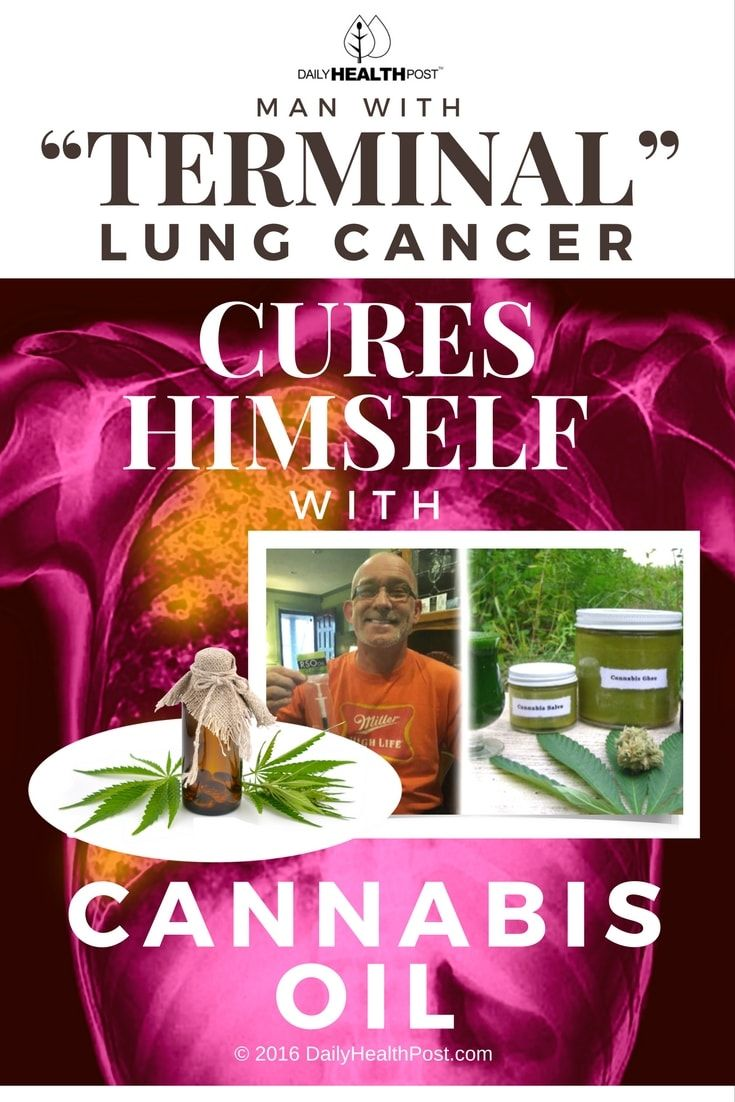 how to make cannabis oil for cancer