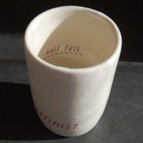 #Optimistic Mug
