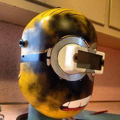 Minion Welding Helmet