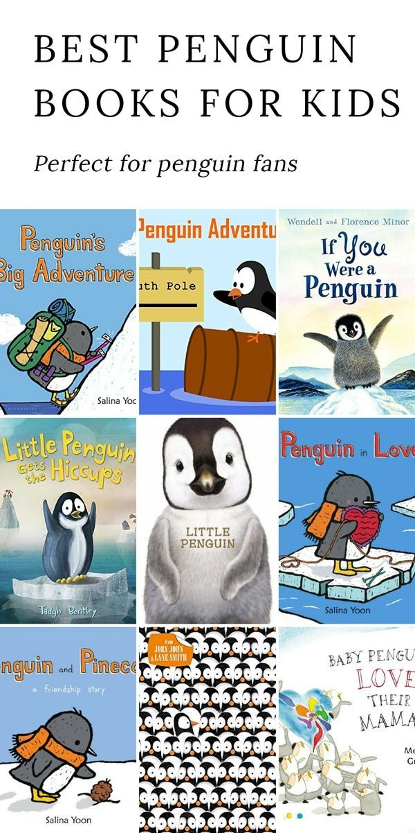 Our favorite Penguin Books for Kids are perfect for celebrating ice, snow, and fresh winter air. Add them to your winter reading list!