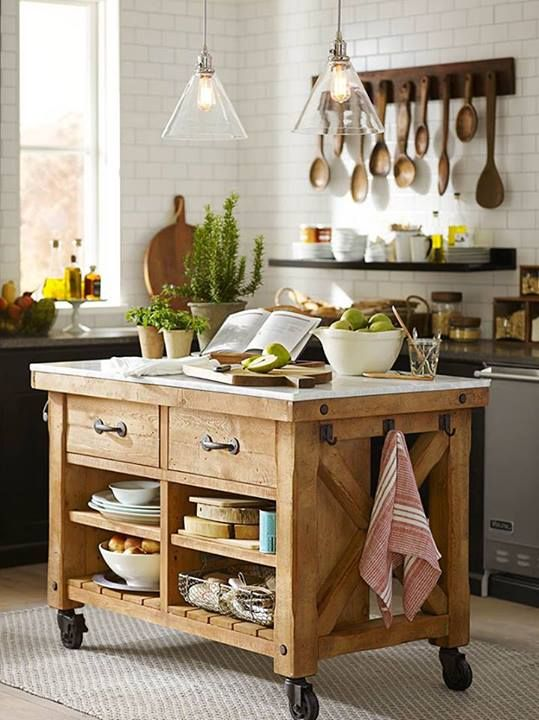 321 Best Butcher Blocks And Kitchen Islands Images On Pinterest Dream Kitch