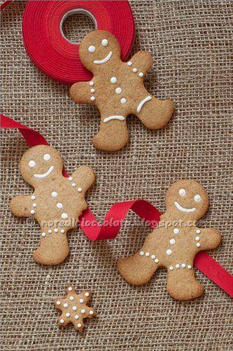 Ricetta dei biscotti gingerbread: gli omini di pan di zenzero