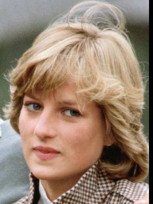 Newly wed HRH Diana Princess of Wales being interviewed with Charles on the banks of Broadlands.  Her youngness, hits one forcibly here, with no make up.  Just 20.