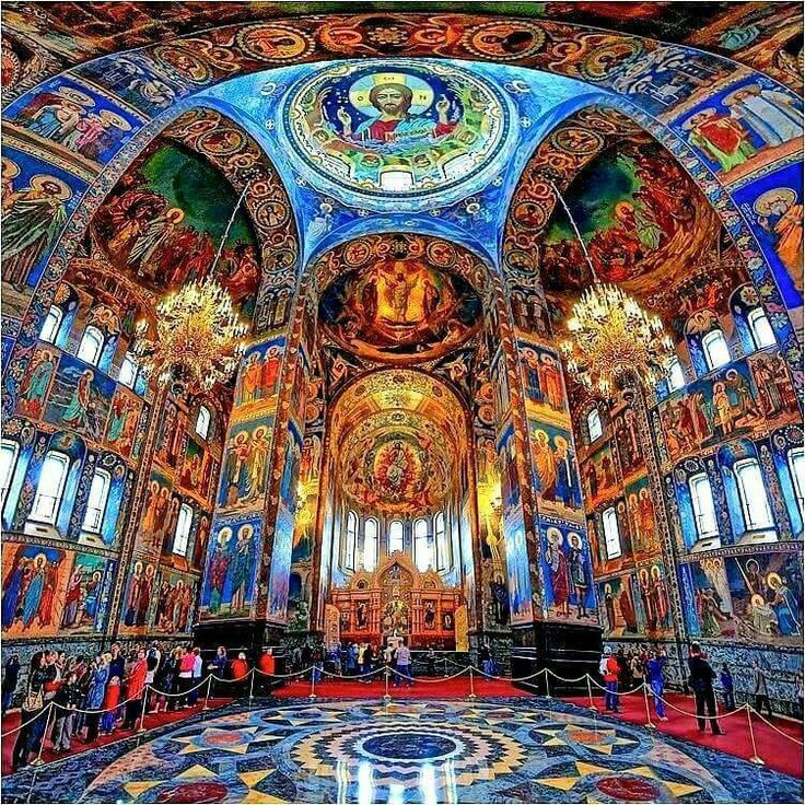 Church of the Resurrection Jesus Christ in Petersburg Russia...just beautiful!!