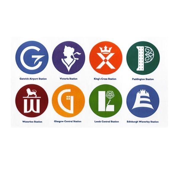 Graphic Symbols That Represent UK's Stations - DesignTAXI.com