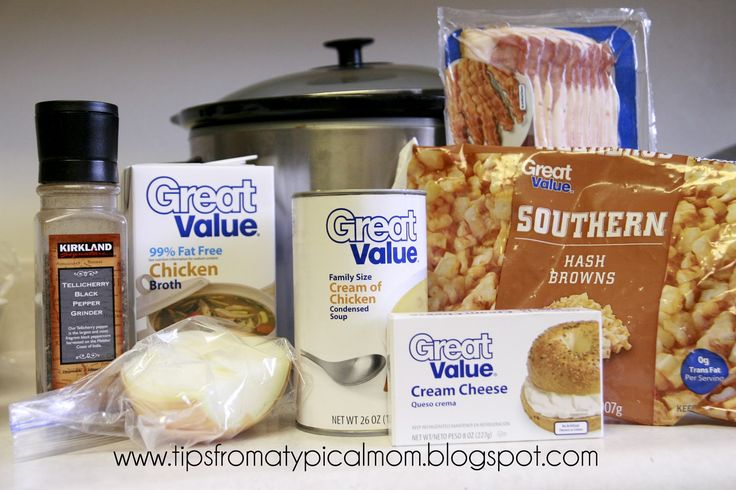 Easy Crockpot Potoato Soup with Hashbrowns- Paula Deen's Recipe - Tips from a Typical Mom