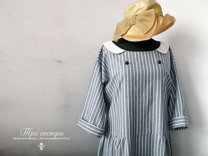 """Платье """"Гавана"""" - платье,платье для путешествий,романтичное платье,длинное платье"""