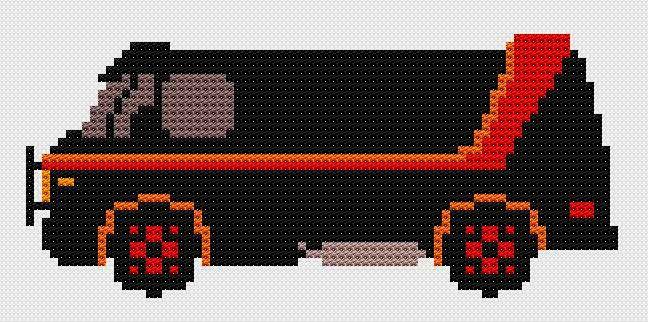 Je suis dans un trip Grosse Voiture, et j'aime quand un plan se déroule sans accrocs.   A-team stitch   I am in Big Cars fantasy, and I love...