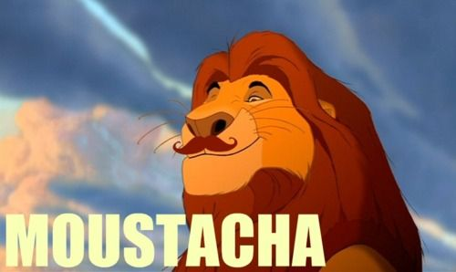 *insert lion king song here* @Amanda McCloskey: Hilarious Quotes, Moustache, Funny Pics, Giggles, Disney Puns, Lion King, So Funny, Mustache, Disney Memes