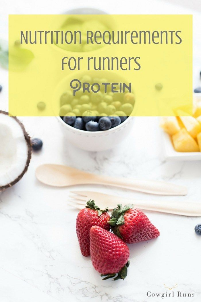Nutrition Requirements for Runners: Protein