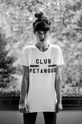 Fashion photography for Lilly for Club Petanque.