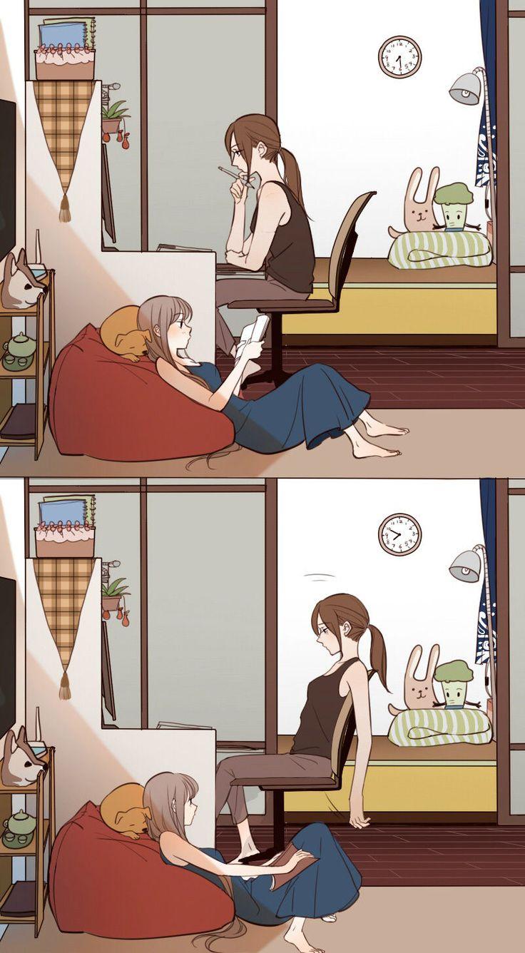 anime lesbian porn cartoon comics
