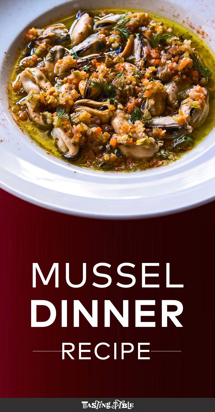 Seafood Ideas For Dinner Party Part - 50: Mussel Dinner Recipe