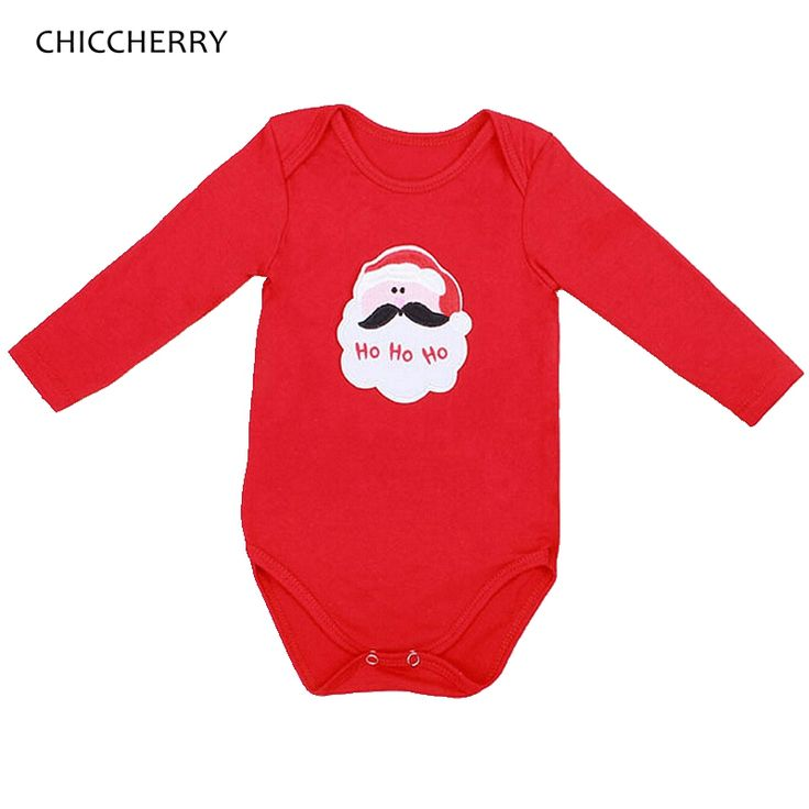 >> Click to Buy << 2016 Christmas Santa Claus Baby Girl Bodysuits Jumpsuits Macacao Bebe Menina New Born Infant-Clothing Cute Toddler Girl Clothes #Affiliate