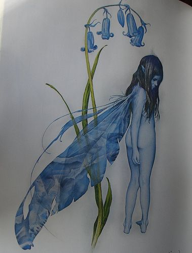 Bluebell Faery {Brian Froud}
