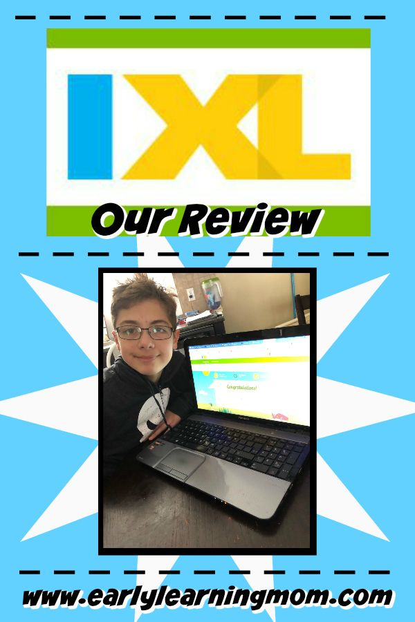 Homeschool Review Crew IXL Review Early learning