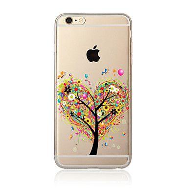Para+Transparente+/+Diseños+Funda+Cubierta+Trasera+Funda+Árbol+Suave+TPU+para+AppleiPhone+7+Plus+/+iPhone+7+/+iPhone+6s+Plus/6+Plus+/+–+CLP+$+2.264