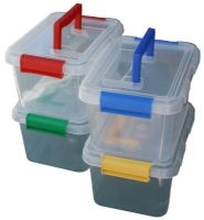 3.5lt Box With Clip-On Lid and Handle