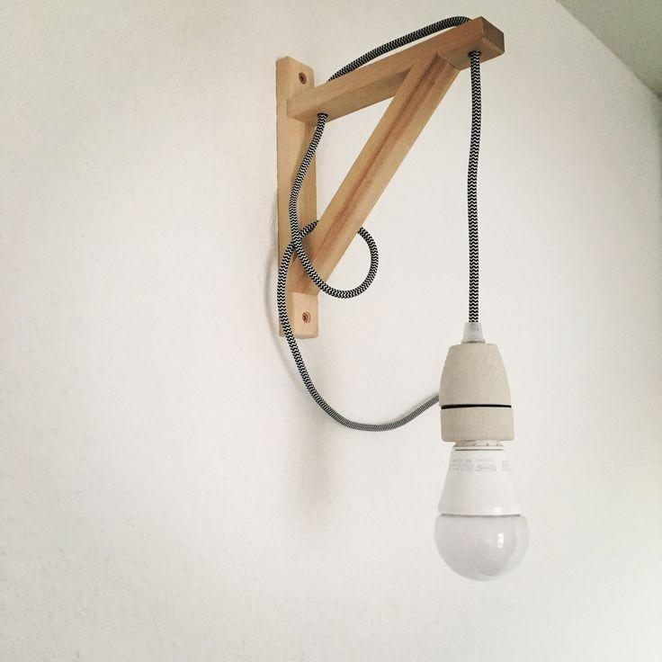 DIY Wandlampe Wandleuchte Ikea Hack Ekby