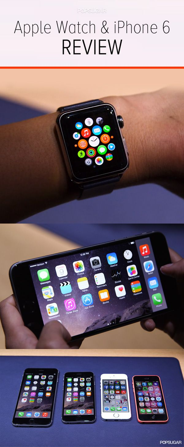 A Hands-On Look at Apple's New Smartwatch and iPhone 6/6 Plus