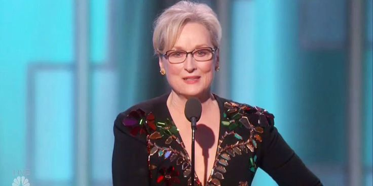 Meryl Streep Golden Globes Speech - Meryl Streep Talks Donald Trump at the Golden Globes