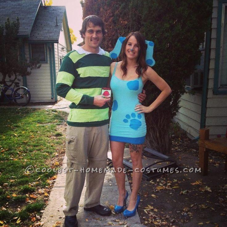 Blues Clues Couples Costume !!!! Costumes Pinterest Couple - teenage couple halloween costume ideas