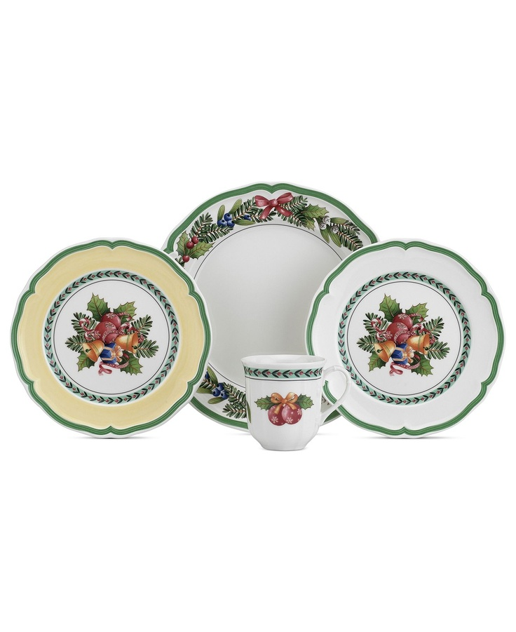 Villeroy boch dinnerware french garden noel collection - Villeroy y bosch ...