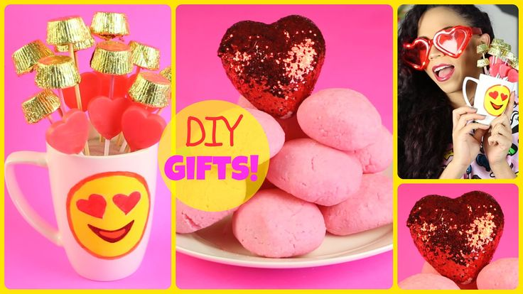 Pucker up coz DIY Valentine's Day gift ideas are here! Cute, easy DIY Valentine gifts and DIY gifts for him, gifts for her, or gifts for your friends! THUMBS...