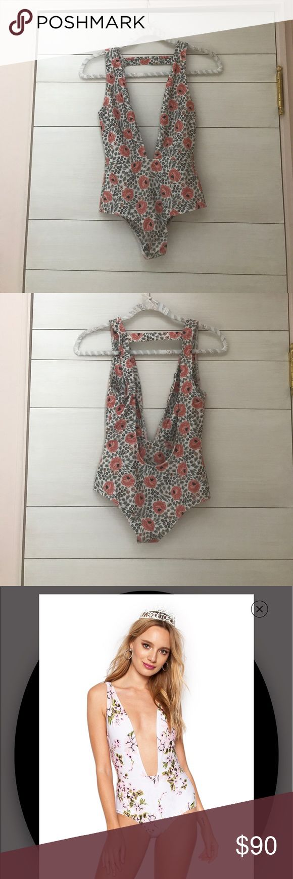 BEACH RIOT one piece Sold out, can't find anywhere else. Worn once in a hot tub. No stains or damages. Beach Riot Swim One Pieces