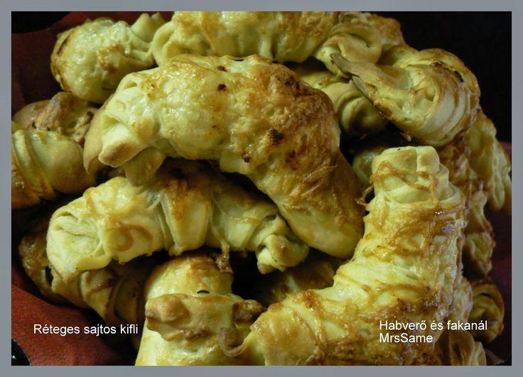 Habverő és fakanál: Réteges sajtos kifli