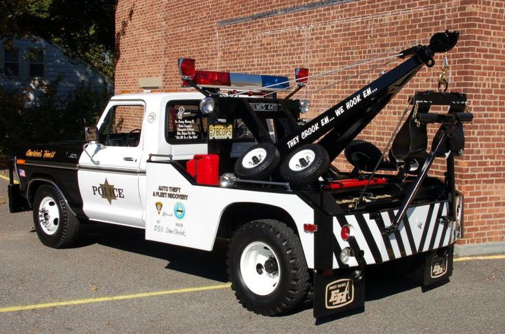 1978 F-350 Holmes 440 Police Wrecker For Sale ~ in Vintage ...