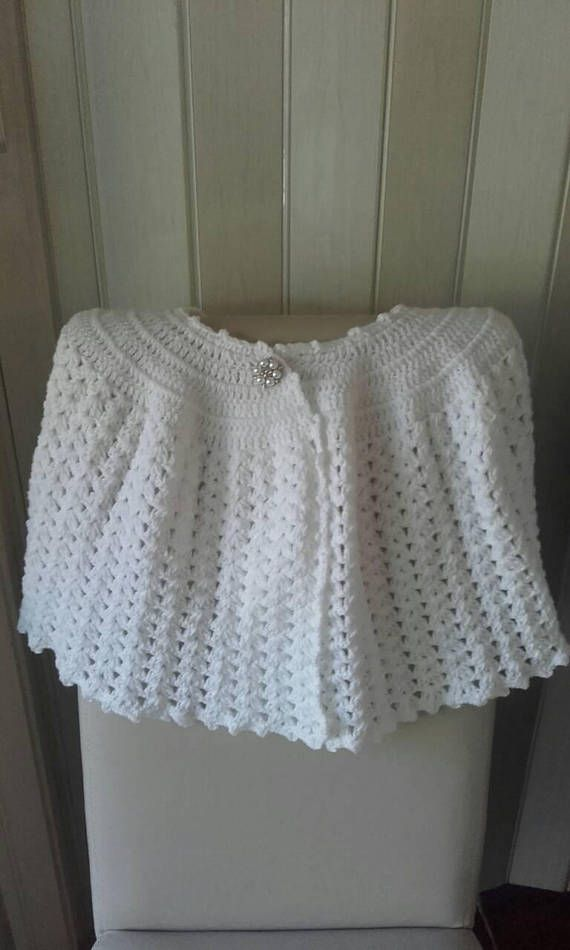 Check out this item in my Etsy shop https://www.etsy.com/uk/listing/531924180/communion-cape-crochet-cape-girl