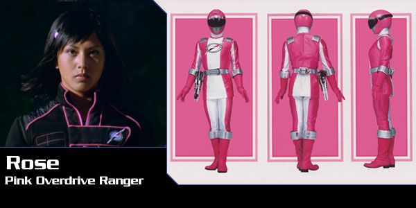 Power Rangers Overdrive pink | ... completo rose ortiz ranger designacion activar sobrecarga ranger rosa