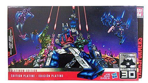 Hasbro Transformers Platinum Edition Autobot Heroes Figure Set (Ultra Magnus, Autobot Springer, Arcee, Blurr, and Sergeant Kup)