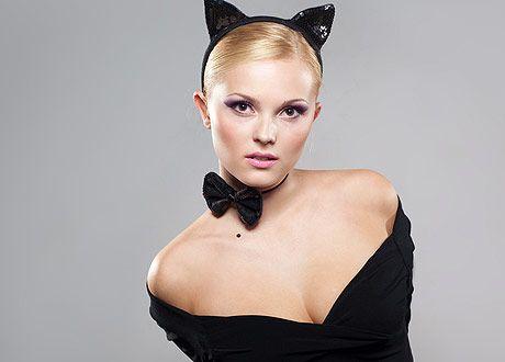 Хайди Клум примеряла костюмы на Halloween