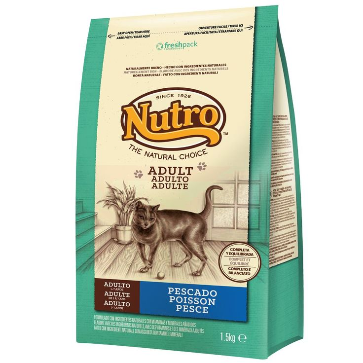Animalerie  Nutro Natural Choice Adult poisson pour chat  15 kg