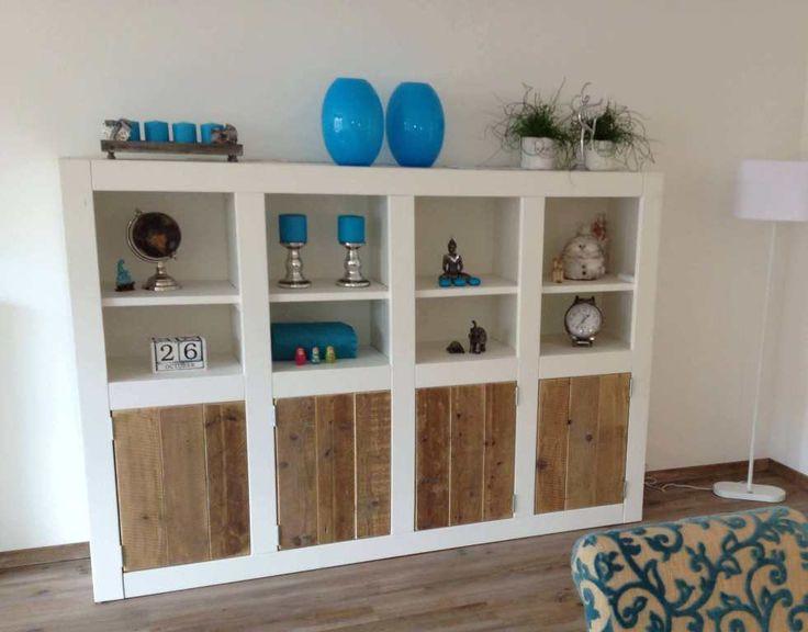 Kast van steigerhout Sara - Steigerhout Furniture | Exclusieve steigerhouten meubelen voor binnen en buiten! Uw steigerhout meubelen en tuinmeubelen op maat gemaakt.