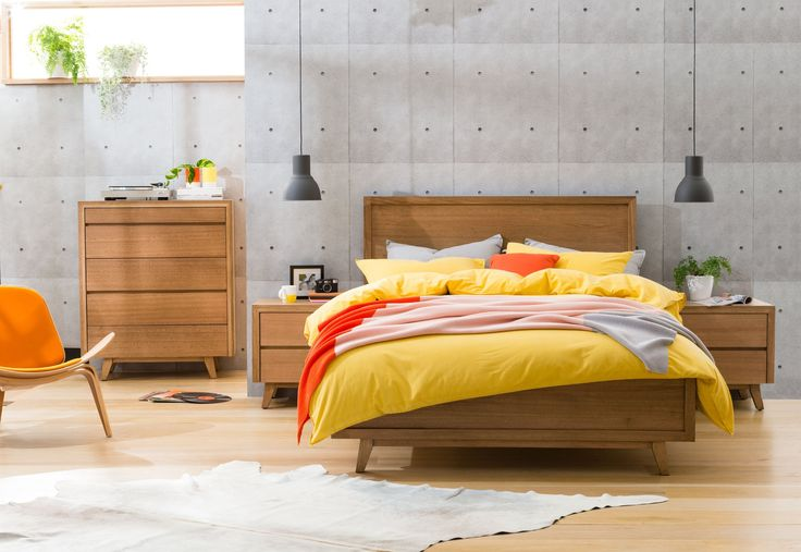 Retro+Bedroom+Furniture+-+ Click+here+to+view+information+PDF  Australian+Made,+constructed+from+Solid+Tasmanian+Oak,+with+felt+lined+drawers. Mortice+&+Tenor+joins.+Dovetail+drawers. Colours+available:+Natural,+Maple,+Cottage+Teak,+Light+Oak,+Mocha,+Nutmeg,+Charcoal. 5+Year+Structural+Warranty.  4+Piece+Tallboy+Suite+includes:+Queen+Size+Bed+with+upholstered+bed+head,+2+x+2+drawer+Bedside+Tables,+1+x+4+drawer+Tallboy+with+jewellery+drawer   Pictured+in+'Maple'+stain,+...