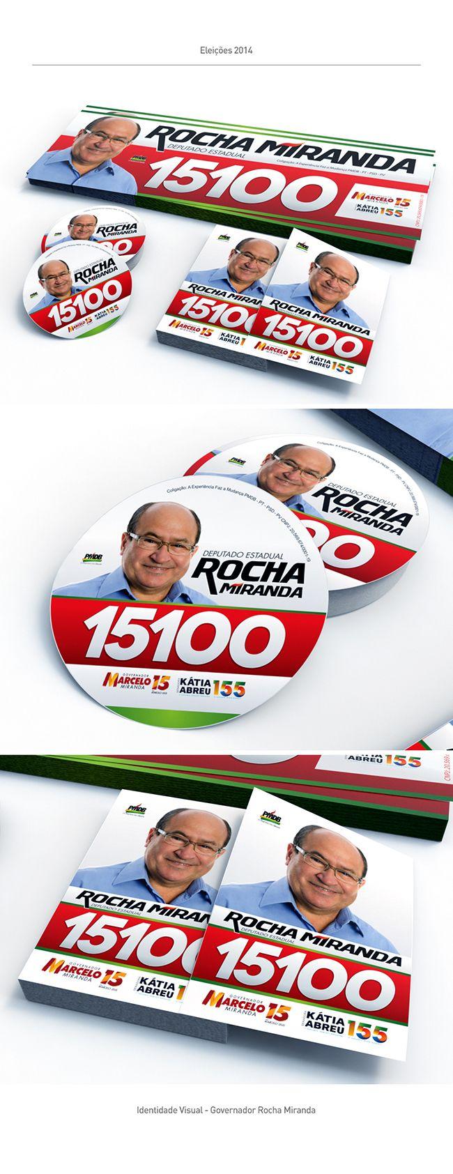 Campanha Política 2014 on Behance