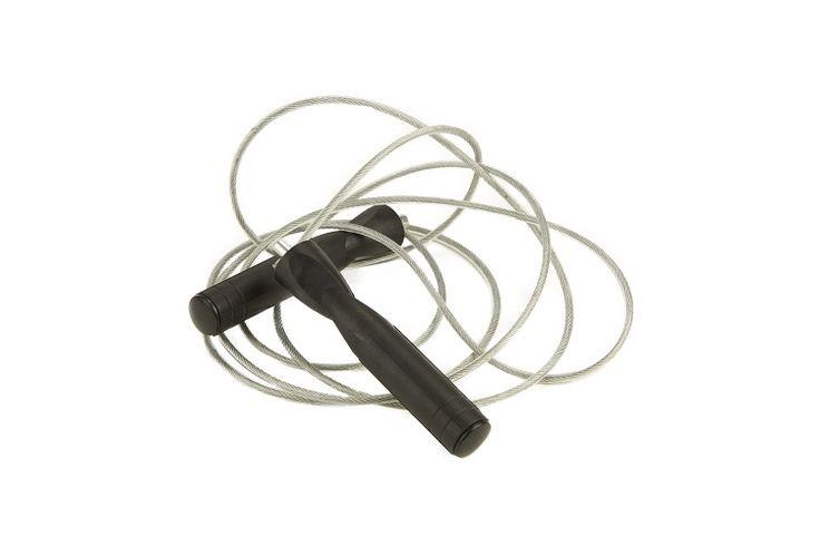 Crossmaxx functional speed rope black  Description: De Functional speed rope is een robuuste speed rope welke ideaal is voor talloze functionele trainingen! De speed rope is soepel maar wel dikker dan de Crossmaxx speed rope waardoor hij geschikt is voor diverse trainingen. De Functional speed ropeheeft een gecoate kabel en is gelagerd voor een soepele snelle spin. Geschikt voor commercieel gebruik. \\n Kenmerken: kleur: zwart of groen lengte: aanpasbaar gelagerd materiaal: gecoate staalkabe…