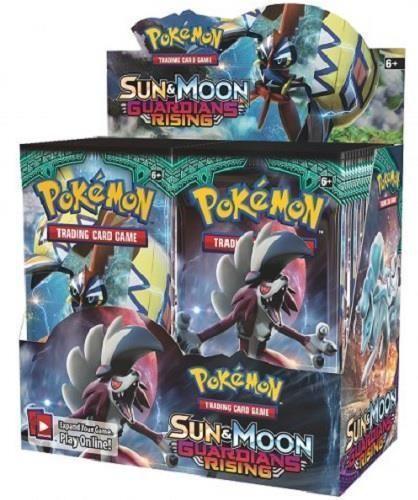 Pokemon Tcg Sun & Moon Guardians Rising Booster Sealed Box - English - Pre-Order
