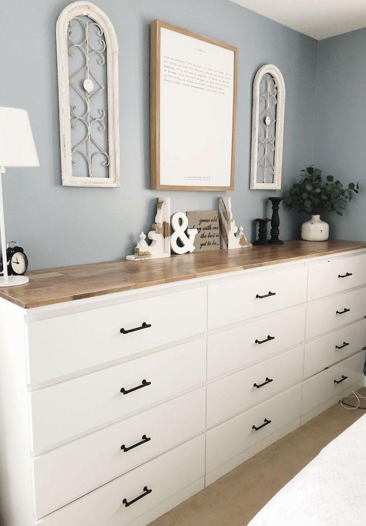 IKEA | Malm Dressers | Farmhouse Handles | Wood To…