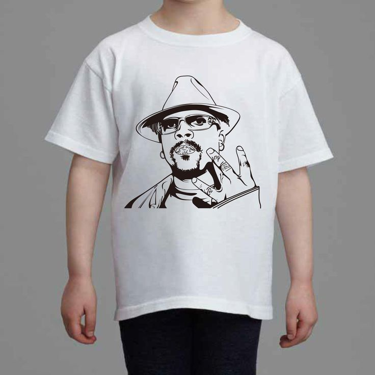 Nate Dogg Kids White Tee (Unisex) // hip hop // Babes & Gents // www.babesngents.com