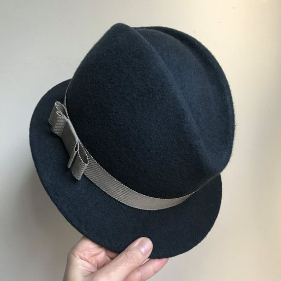 Womens and Mens Felt Fedora Hat Small Brim Classic Hat