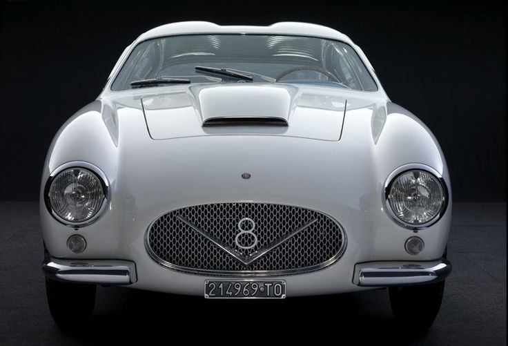 """The Fiat 8V (or """"Otto Vu"""") is a sports car produced by the Italian automaker Fiat from 1952 to 1954. The car was introduced at the 1952 Geneva Motor Show. The Fiat 8V got its name because at the time of its making Ford had a copyright on the term V8."""
