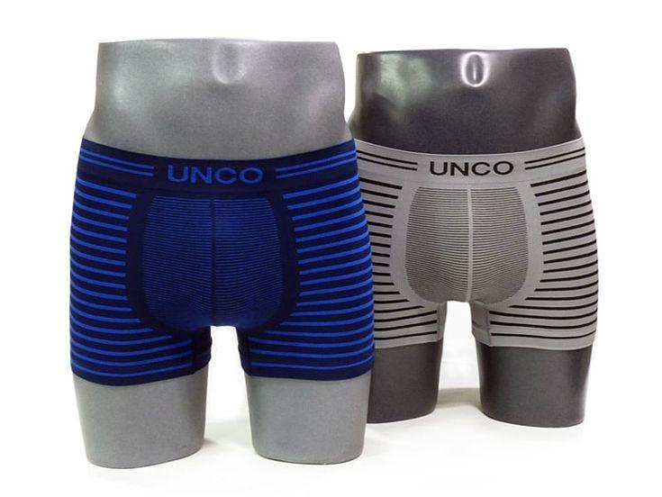 Pack compuesto por dos boxers sin costuras para hombre fabricados en una sola pieza y confeccionados en microfibra extra-suave y muy elástico. ¡EXCELENTE CALIDAD!