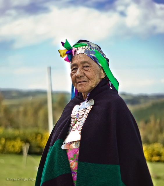 The Mapuche people are the largest ethnic group in Chile and constitute approximately 10% (more than 1.000.000 people) of the Chilean population. Half of them live in the south of Chile from the river Bío Bío until the Chiloé Island. The other half is found in and around the capital, Santiago. There are also around 300.000 Mapuches living in Argentina.