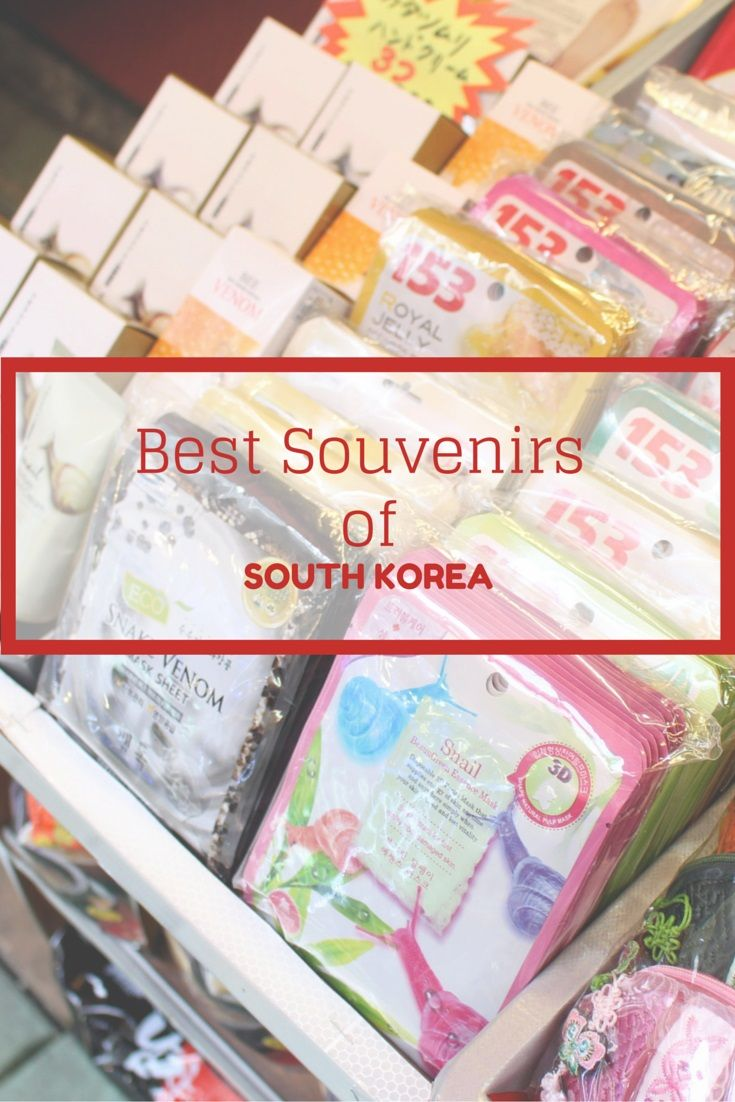 The best souvenirs from South Korea to take home
