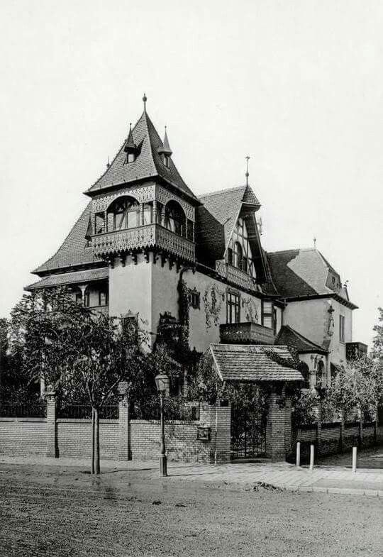 1896. Thököly út, Stefánia út sarokház.