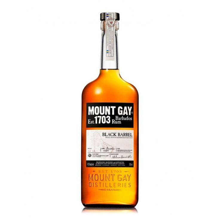 Rhum - MOUNT GAY Black Barrel 43% - Barbade  39,00 €